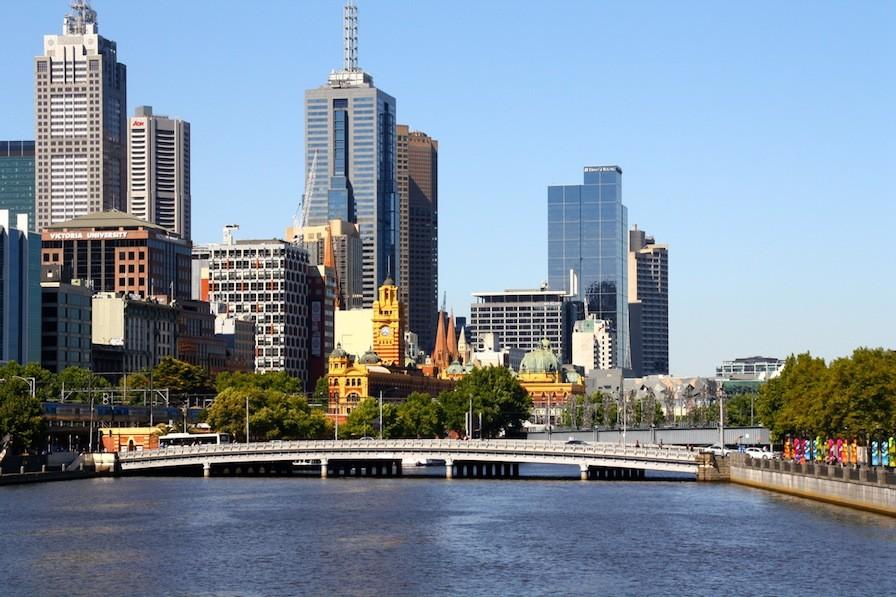 Melbourne - die beste Stadt in Australien