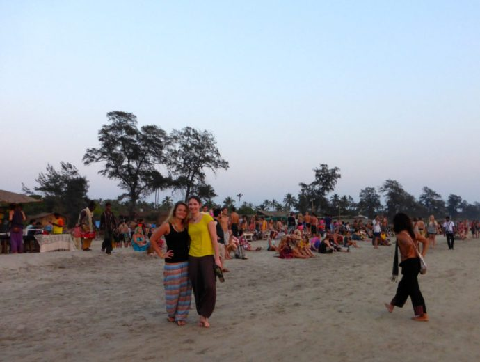 Goa Hippies Strand