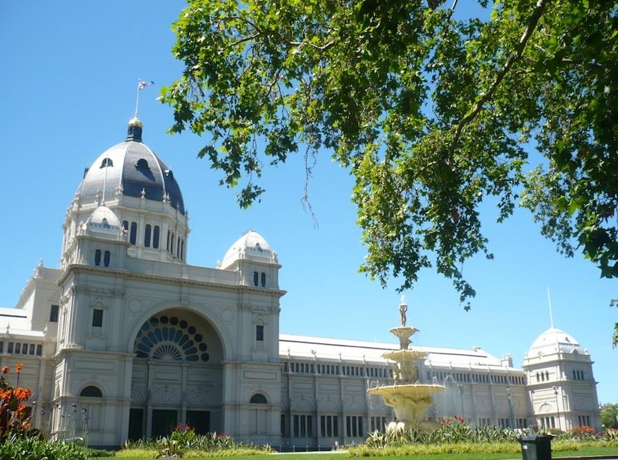 Melbourne Australien Park