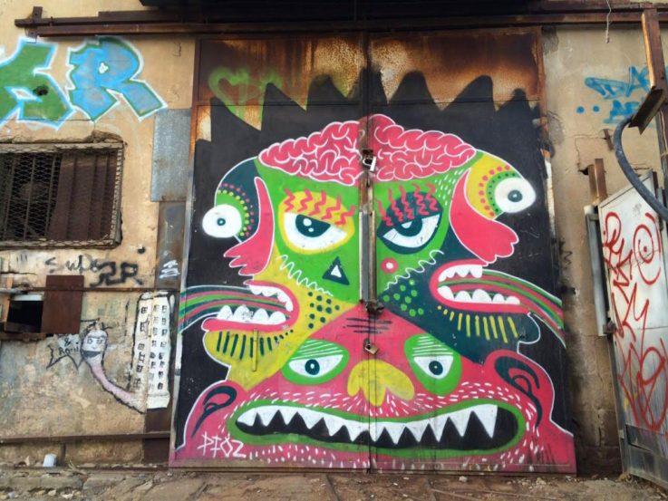 Tel Aviv Streetart Florence