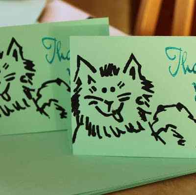 Do It Yourself: Thank You Notes