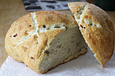 Meatless Mondays: Dill and Sweet Onion Le Creuset French Oven Bread