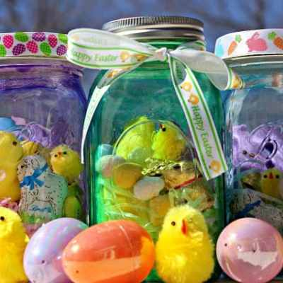 DIY: Mason Jar Easter Basket