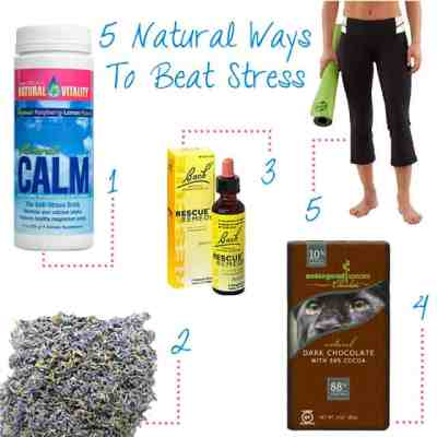 5 Healthy Ways to Beat Stress