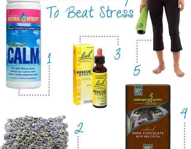 5 Healthy Ways to Beat Stress