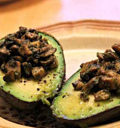 Stuffed Baked Avocados