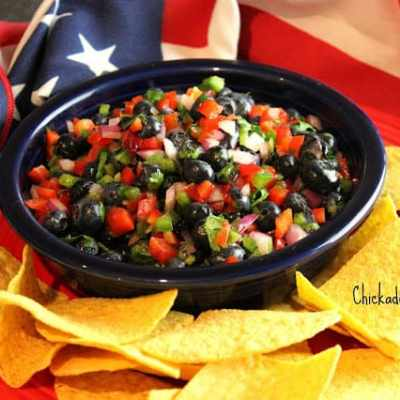 Meatless Monday: Blueberry Salsa Served with Food Should Taste Good Chips + Giveaway!
