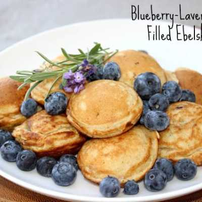 Meatless Monday: Blueberry-Lavender Jam Filled Ebelskivers