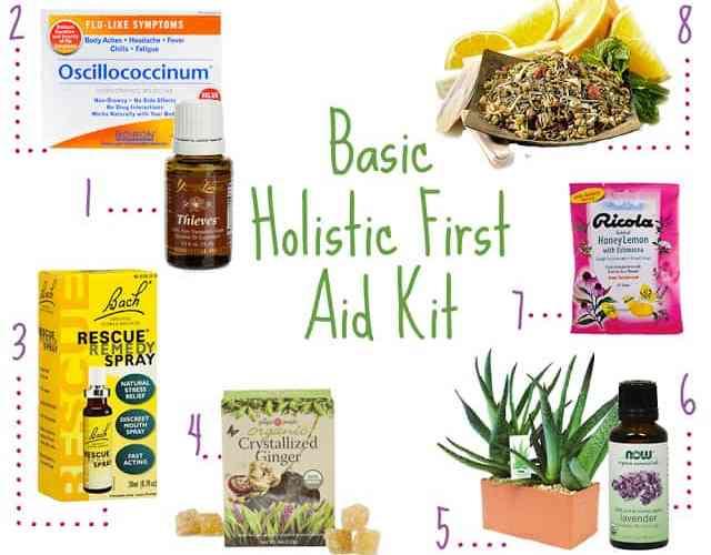 Basic Holistic First Aid Kit