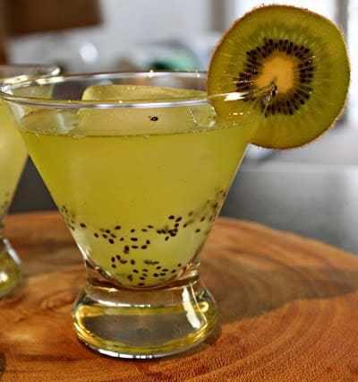 Kiwi-Lime Martini