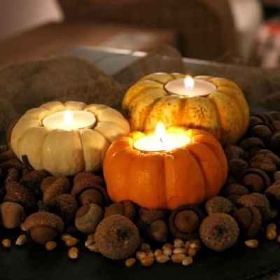 Do It Yourself: Rustic Autumn Centerpiece