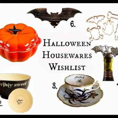 Halloween Housewares Wishlist