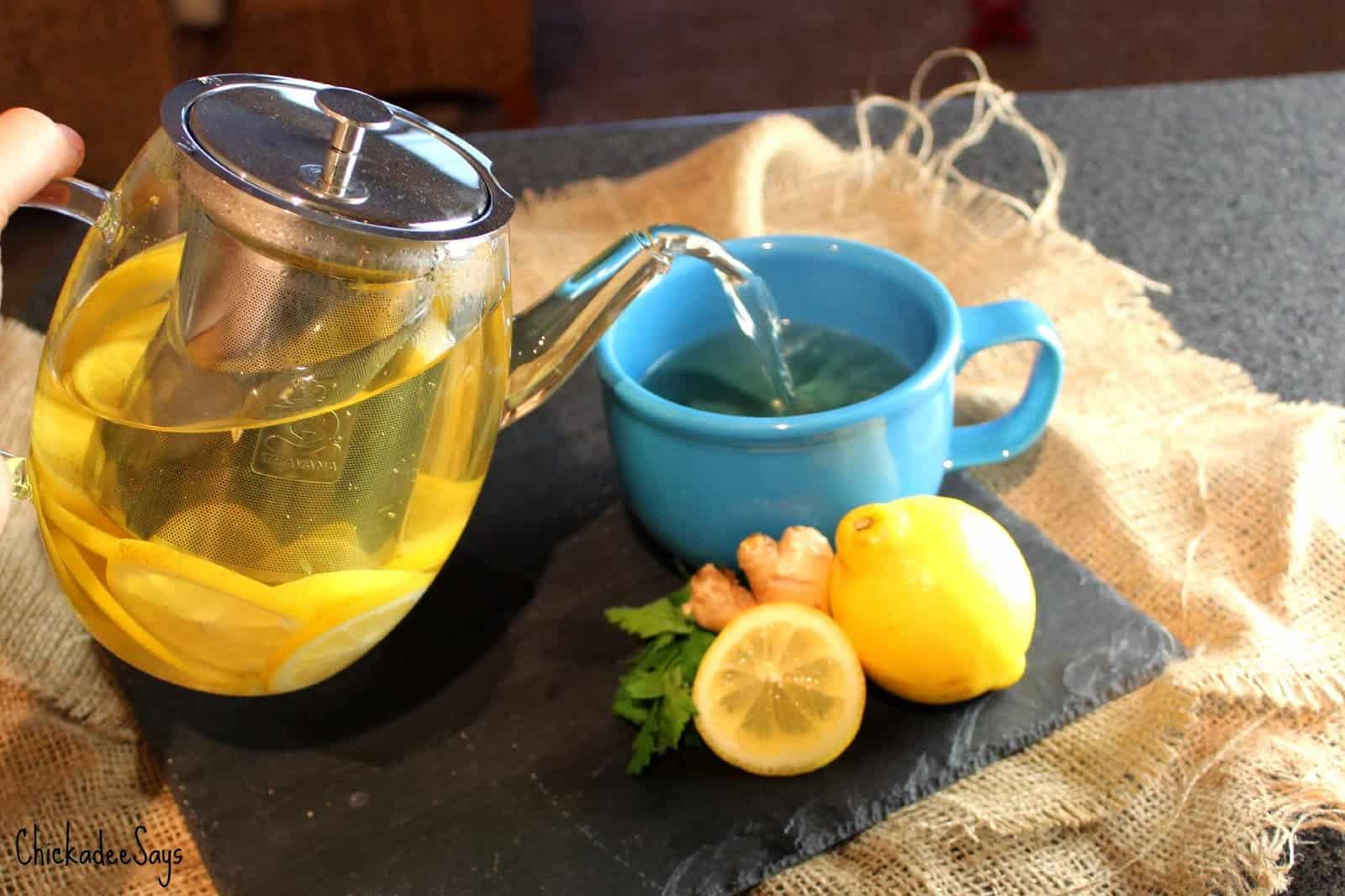 Do It Yourself: Herbal Detox Tea