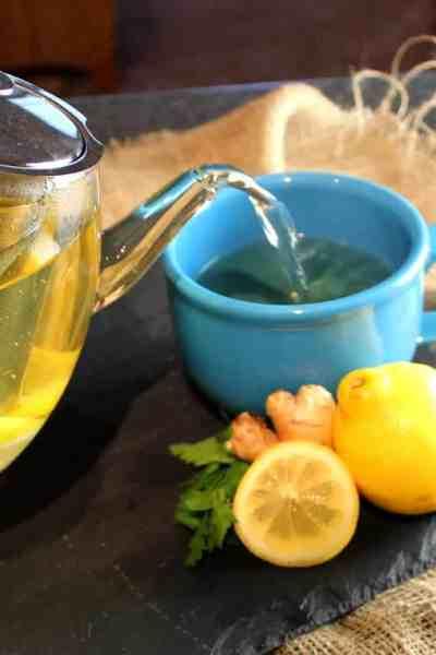 DIY Herbal Detox Tea