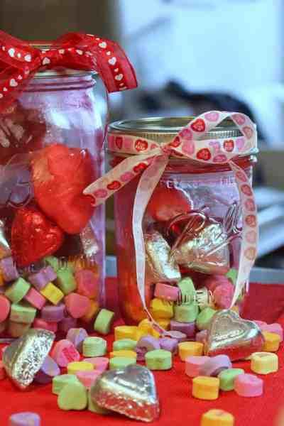Valentines Day Mason Jar Treats