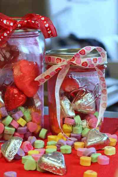 Valentines Day Mason Jar Treats