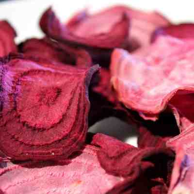 Sea Salt and Vinegar Beet Chips