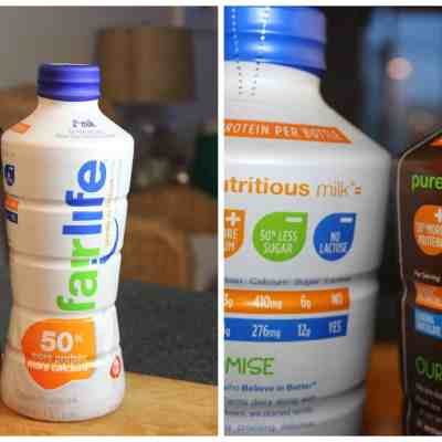 Partner Yoga with Fairlife Milk and a Magic Bullet Giveaway (Closed)