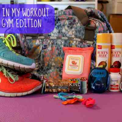 What's in My Workout Bag: Gym Edition