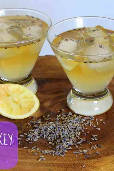 Lavender Whiskey Sour