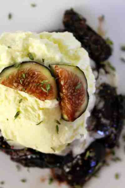 Honey Glazed Balsamic Figs