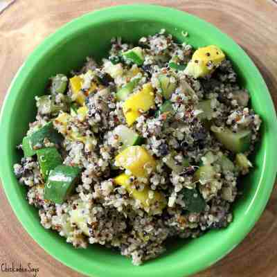 Meatless Monday: Sautéed Vegetable Quinoa
