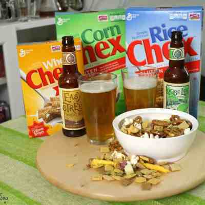 The Perfect Super Bowl Snack: Chex Mix!  (&Giveaway! (Closed))