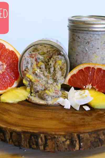 Vegan Tropical Chia Seed Pudding
