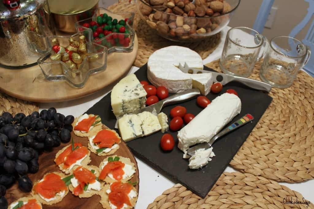 Holiday Hosting Tips Cheese Spread