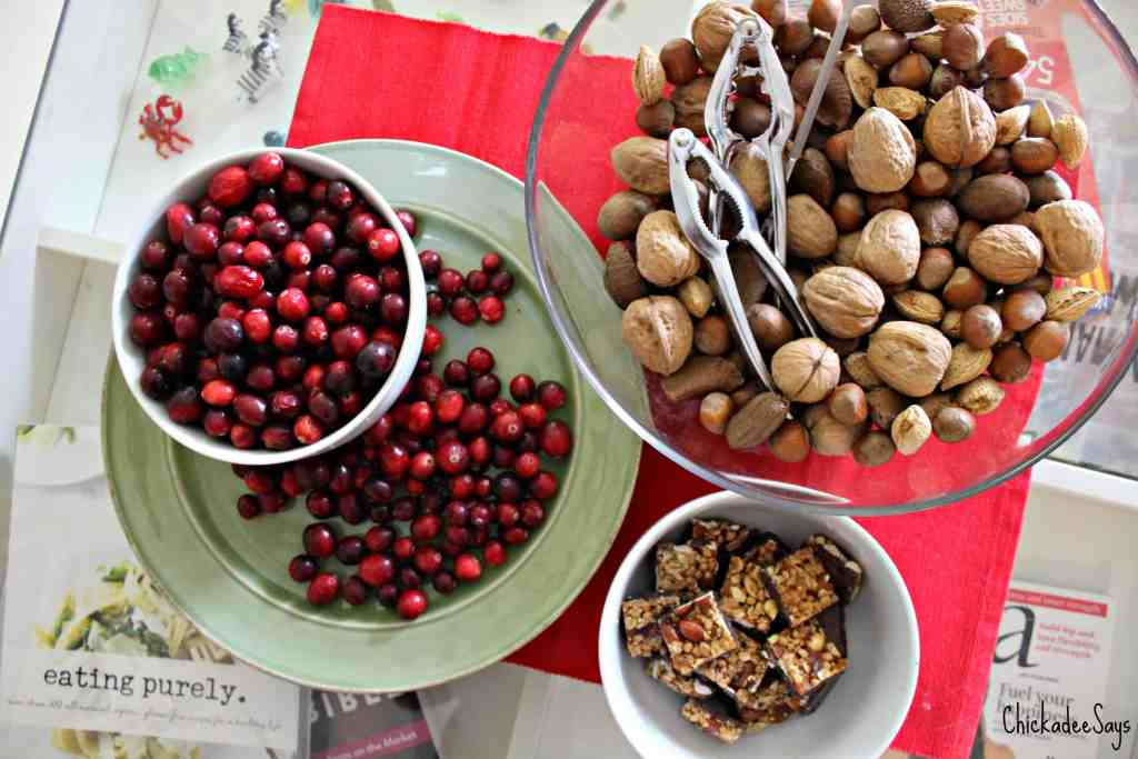 Holiday Hosting Tips Snack Spread