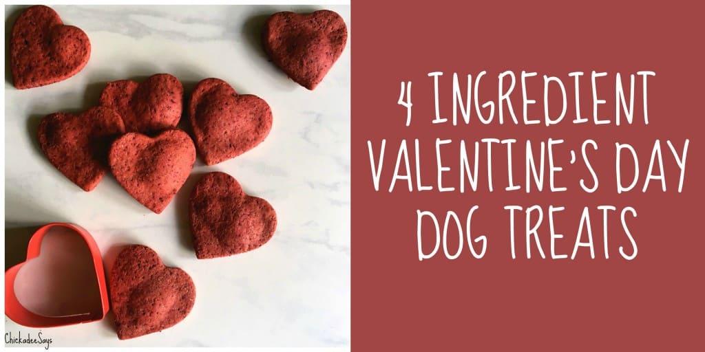 4 Ingredient Valentine's Day Dog Treats Recipe