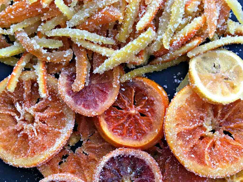 Closeup Candied Citrus