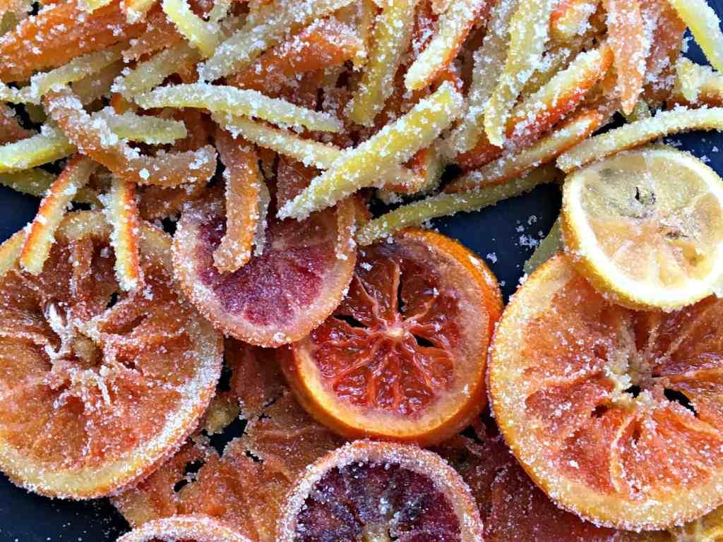 Closeup Candied Citrus
