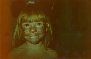 Me as a kid Dirty Face