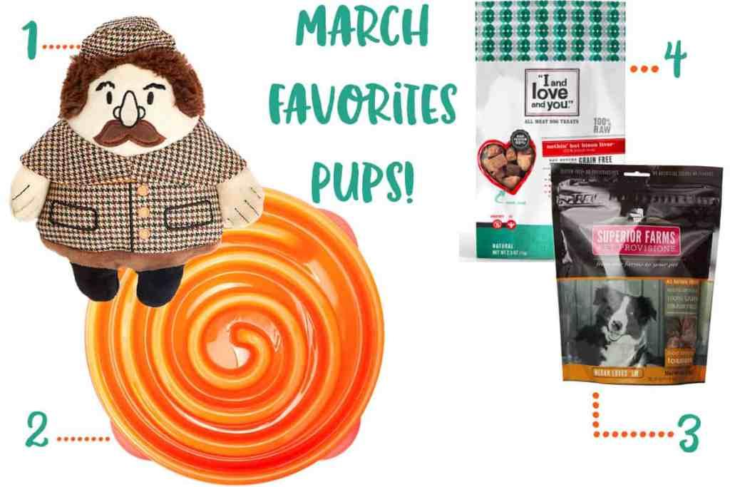March Favorites Pets