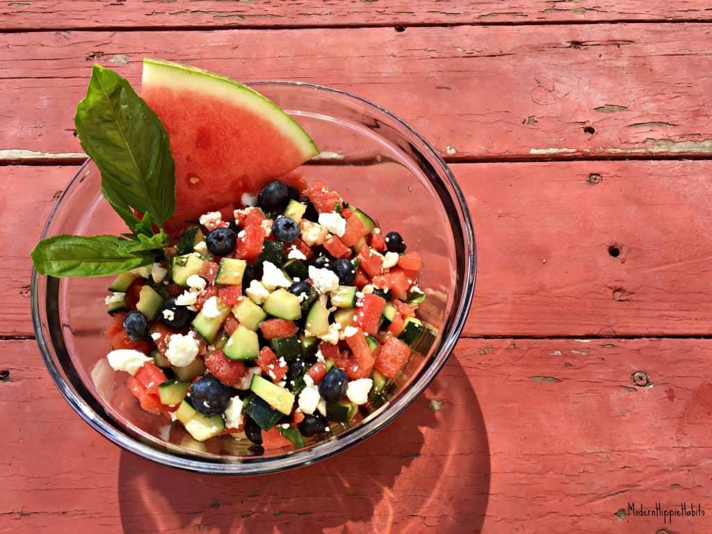 Refreshing Summer Salad Vegetarian