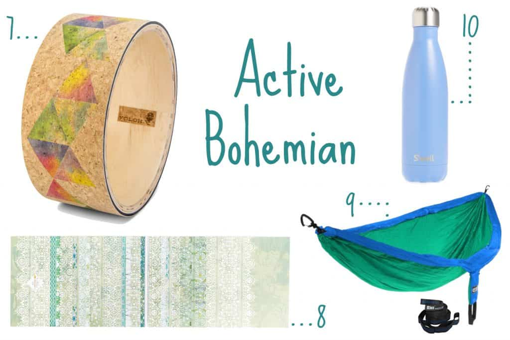 Bohemian Active Birthday Wishlist