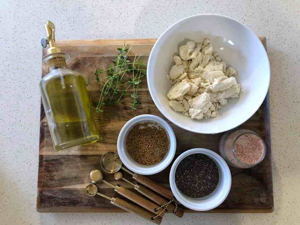 Almond Milk Pulp Crackers Ingredients