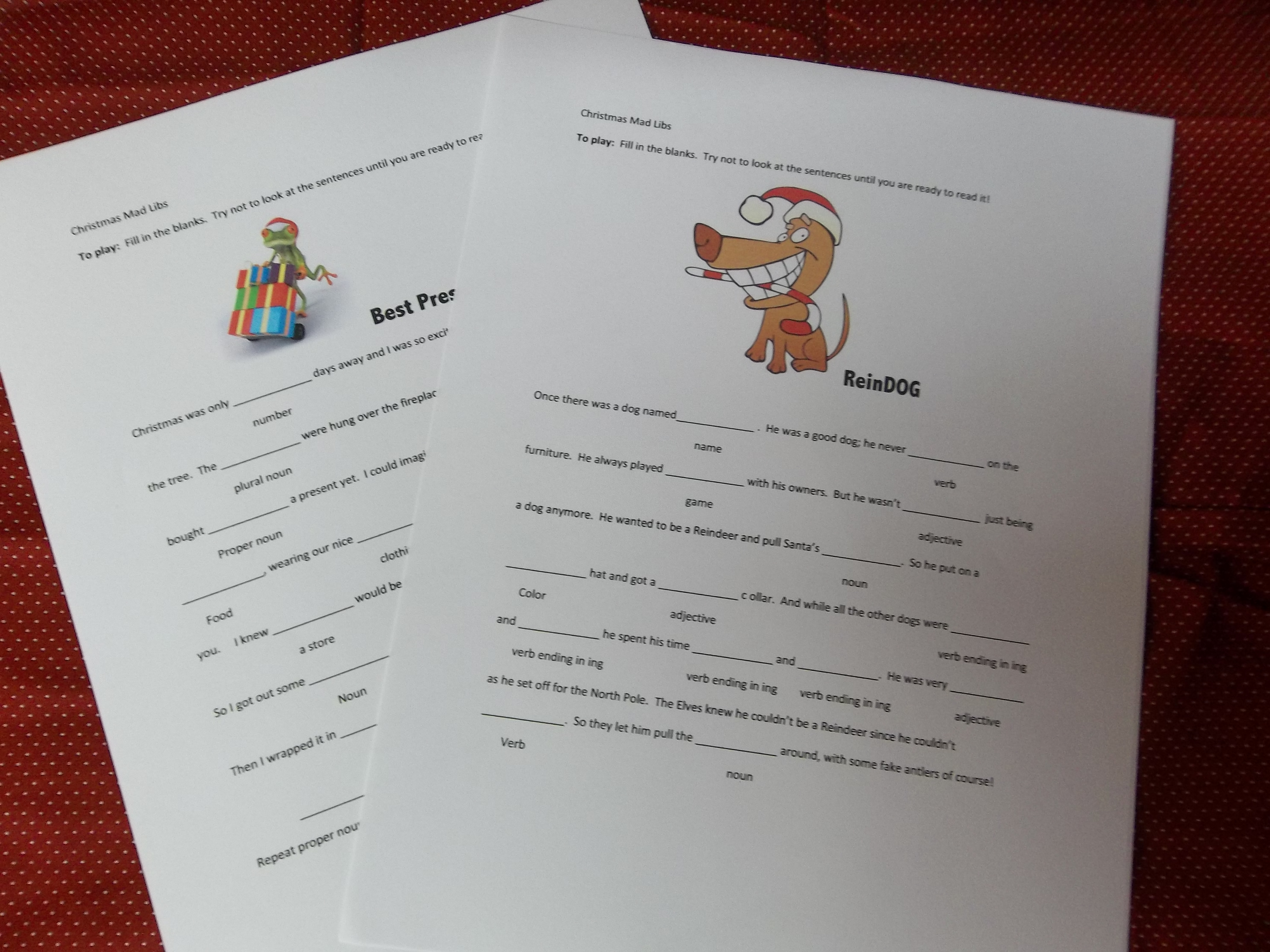 The Best Printable Mad Libs For Kids