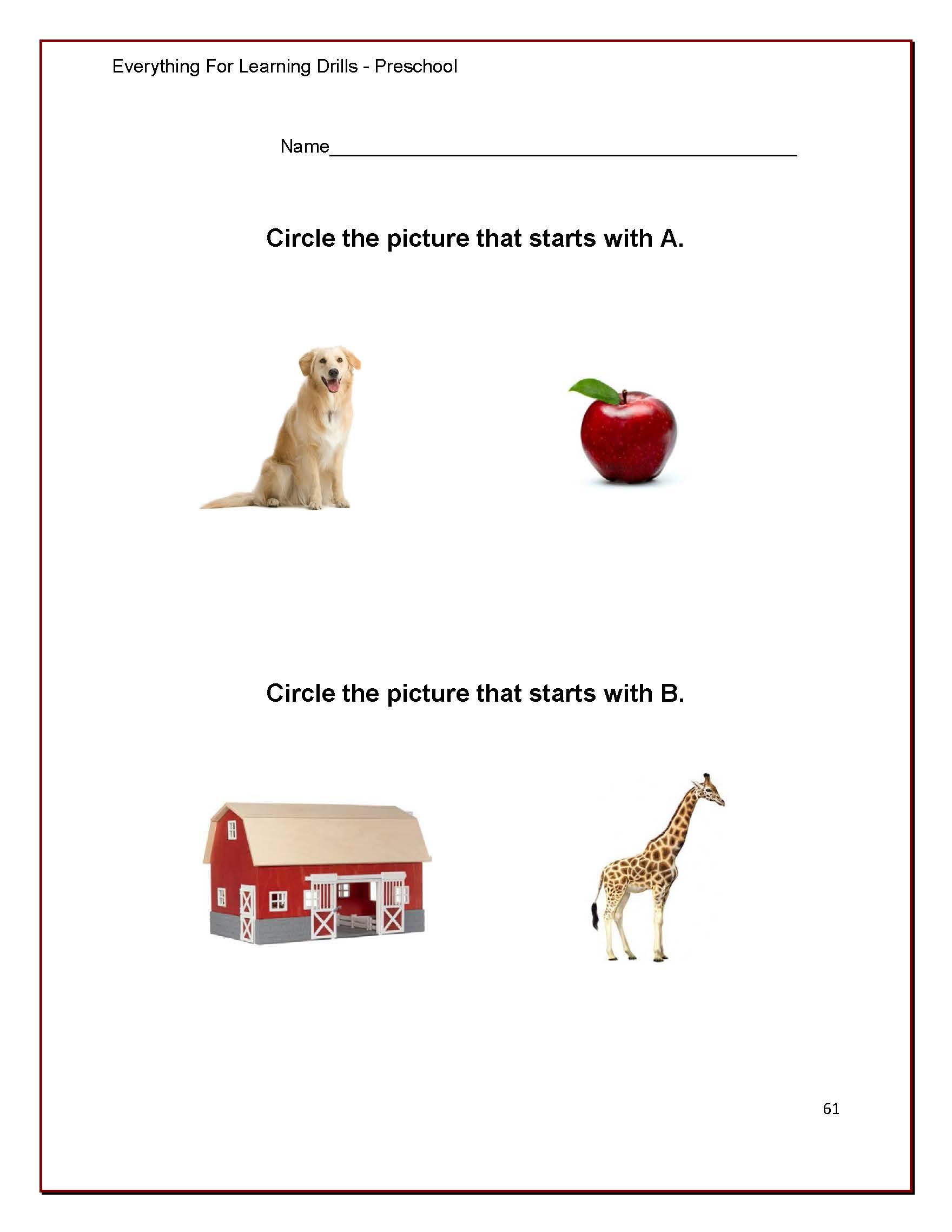 The Big Book Of Printable Preschool Worksheets