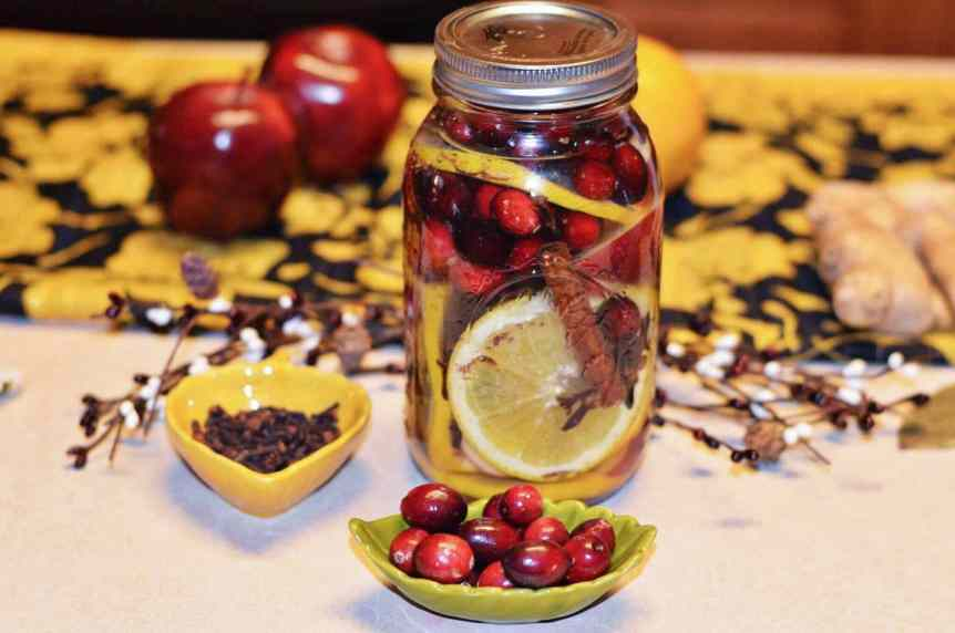 Fall Simmering Pot Mason Jar