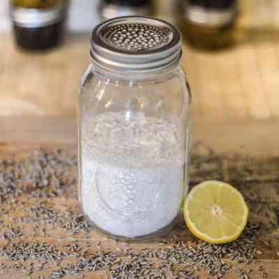 DIY Carpet Powder – Fresh Lemon and Lavender (All-Natural And Borax-Free)