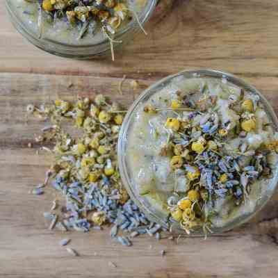 DIY Herbal Body Scrub – Lavender Chamomile