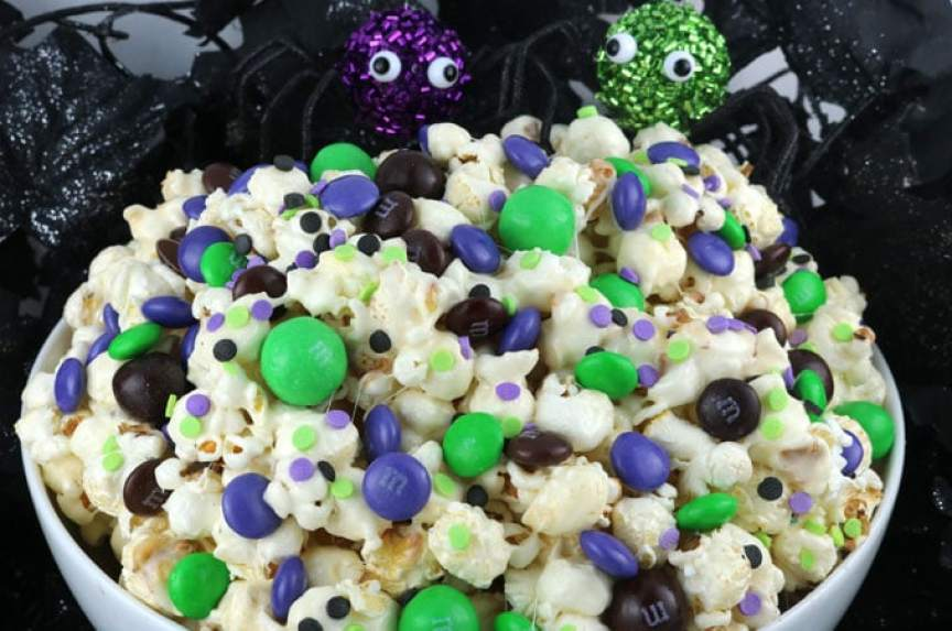Bewitched Halloween Popcorn