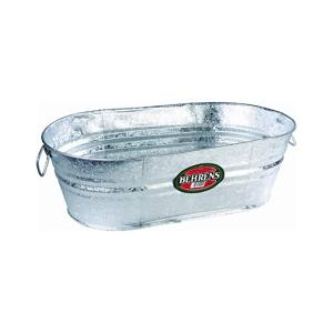 16-Gallon Oval Steel Tub