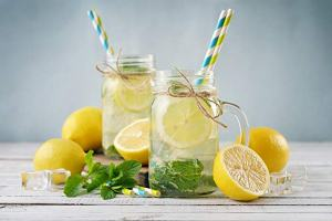 Glass Drinking Jars