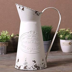 Shabby Metal Pitcher