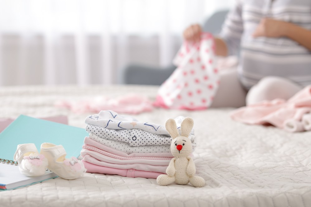 Folding Baby Clothes & Preparing Home For Newborn