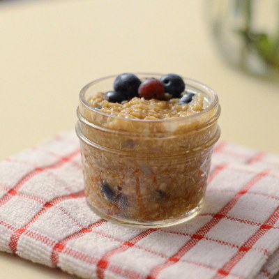 Cauliflower Oatmeal for Toddlers (Healthy Hidden Veggie Breakfast)