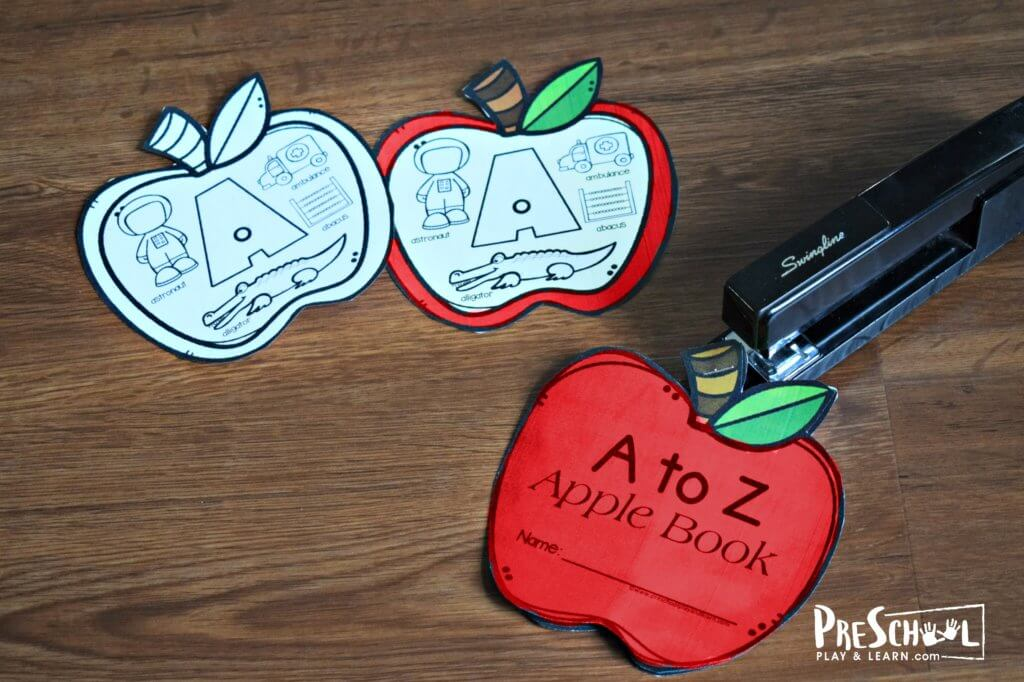 A to Z Apple Book